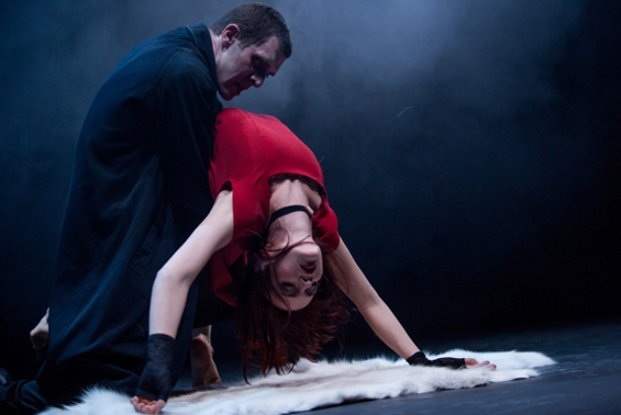 Mark Bruce's dance theatre version of Dracula
