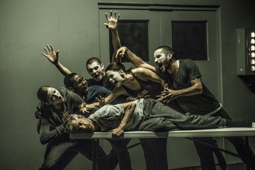 Jonathon Young and Crystal Pite's Betroffenheit.