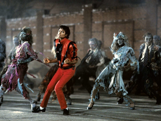 The funky zombies in Michael Jackson's Thriller
