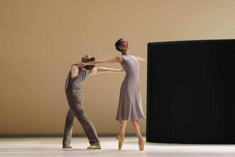Jessica Lang's Lyric Pieces (James Barton and Yijing Zhang, Birmingham Royal Ballet)