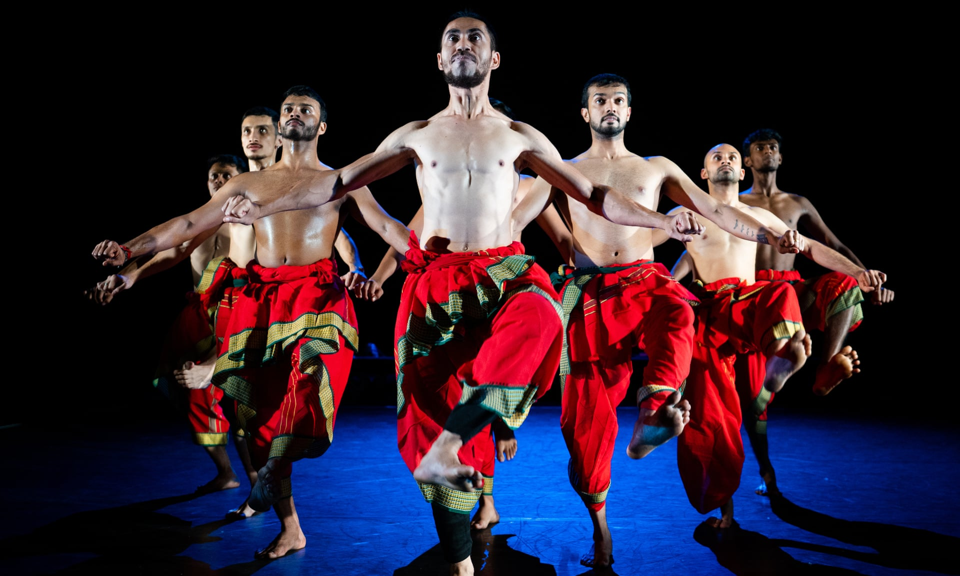 Dancers from Malaysia's Temple of Fine Arts, in choreography by Mavin Khoo. Photo: Rehmat Rayatt