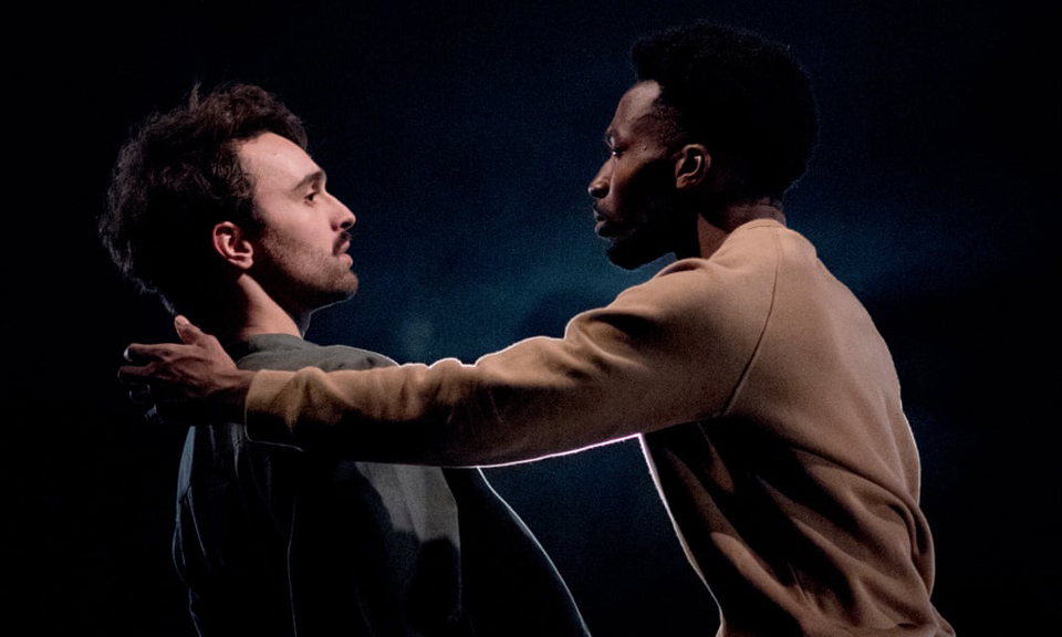 Georges Hann and Rhys Dennis In James Cousins' Between Us Is Me. Photo: Camilla Greenwell