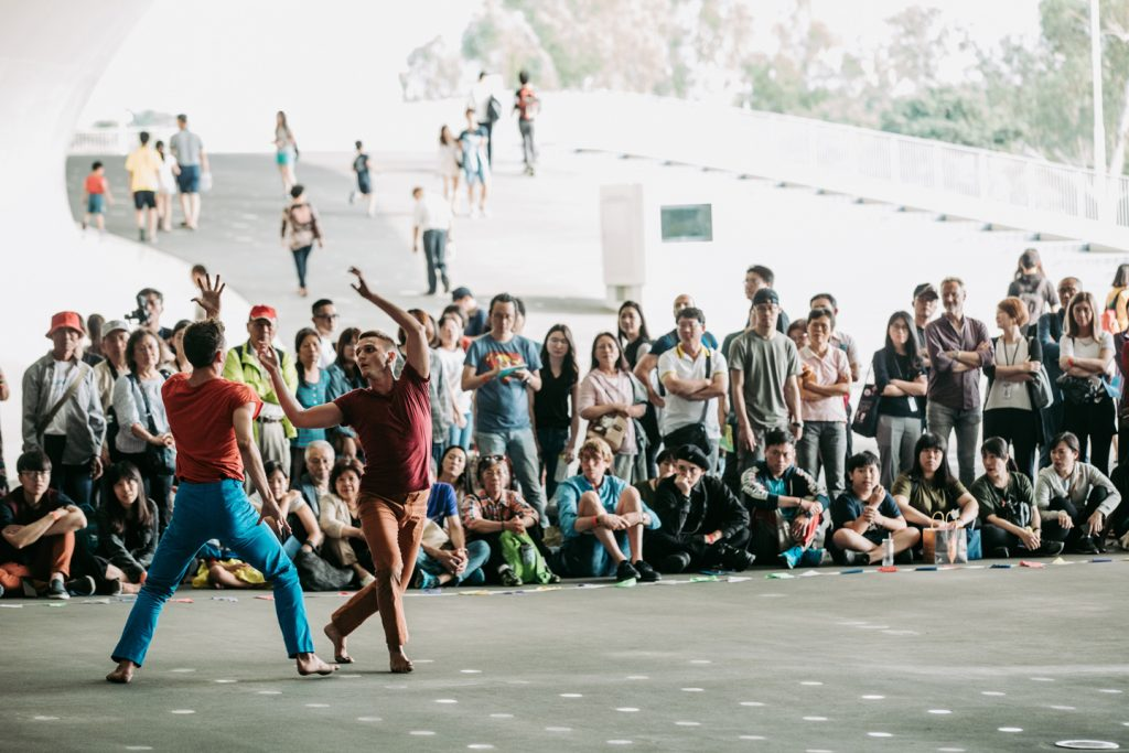 Yuval Pick's Hydra at Taiwan Dance Platform 2018