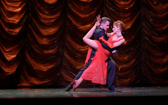 Julio Seffino and Carla Dominguez in German Cornejo's Immortal Tango