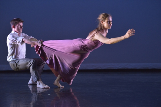 Jenn Weddel and Spencer Ramirez in Mark Morris's Jenn and Spencer