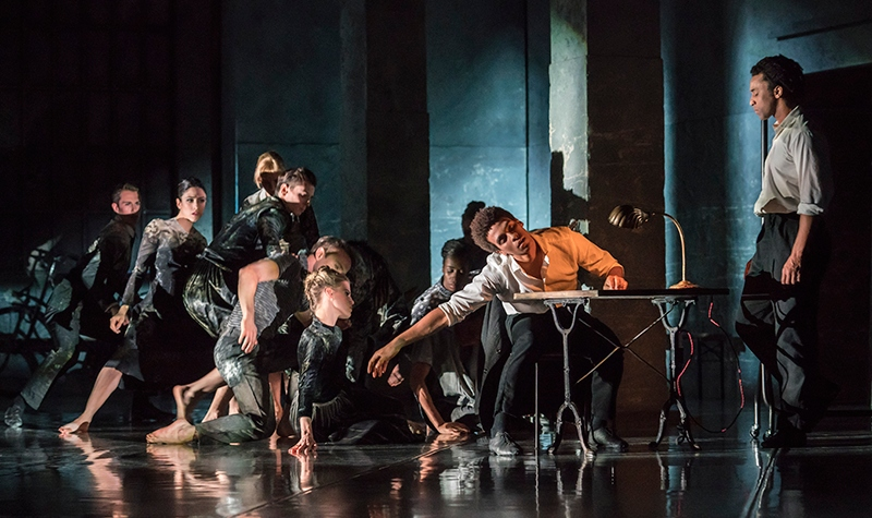 Photo of Kim Brandstrup's Life is a Dream for Rambert