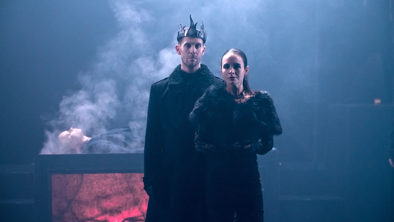 Jonathan Goddard and Eleanor Duval in Mark Bruce's Macbeth