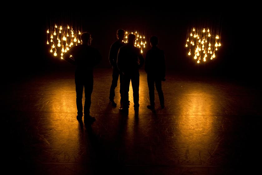 Michael Hulls' LightSpace. Photo: Heathcliff O'Malley