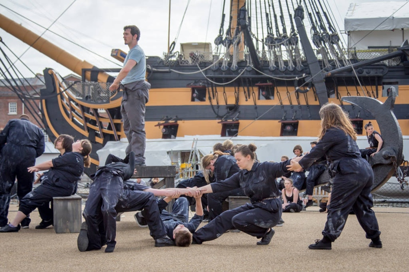 Photo of Stopgap Dance Company in The Seafarers