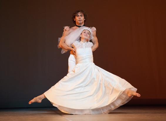 Natalia Osipova and Ivan Vasiliev in Arthur Pita's Facada.