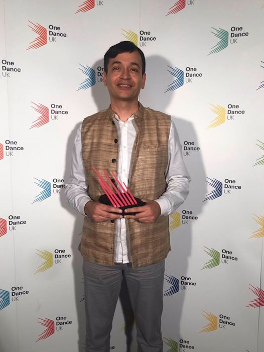 Sanjoy Roy wins One Dance UK 2019 Dance Writing Award