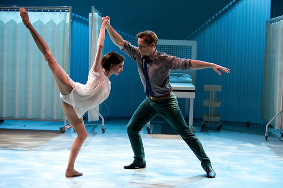 Olivia Cowley and Thomas Whitehead in Ludovic Ondiviela's Cassandra
