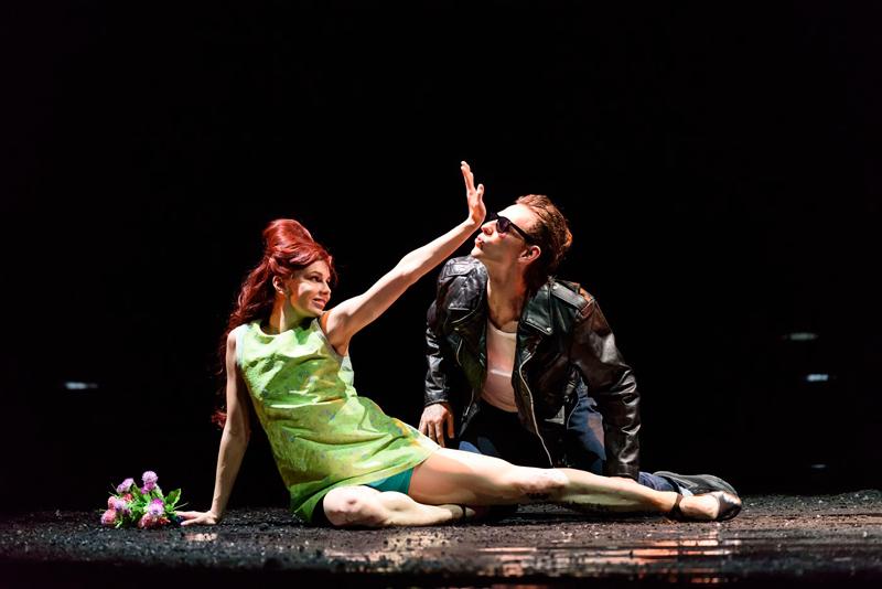 Natalia Osipova and Sergei Polunin in Arthur Pita's Run, Mary, Run. Photo: Bill Cooper