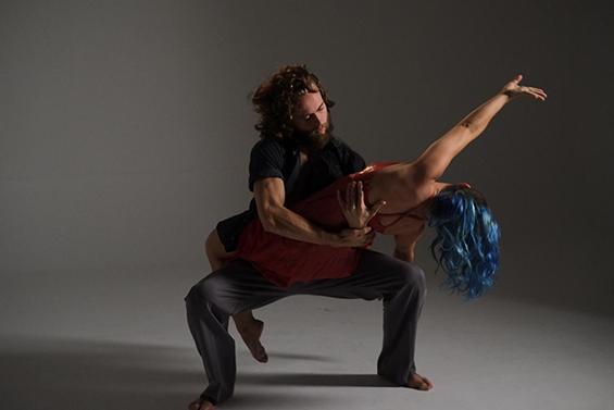 Theo Samsworth and Lisa Rowley in Tavaziva's Africarmen