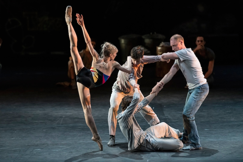 Melissa Hamilton and artists of the Royal Ballet in Kenneth MacMillan's The Judas Tree. Photo © Bill Cooper