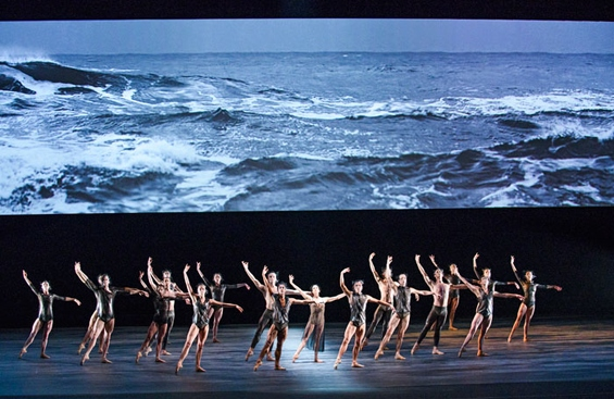 Tuesday, the final act from Wayne McGregor's Woolf Works. Photo: Tristram Kenton