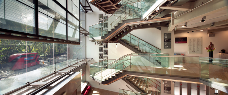 Photo of interior of Sadlers Wells Theatre by Philip Vile
