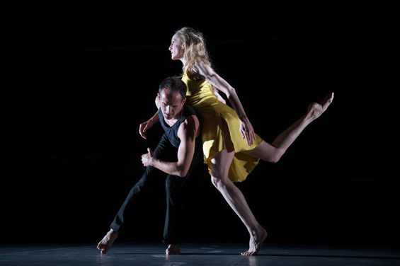 Wendy Whelan and Brian Brooks in First Fall