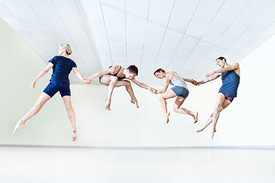 Yorke Dance Project in rehearsal