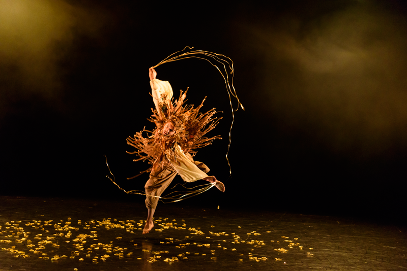 Gavin Coward as Rumpelstilskin for balletLORENT