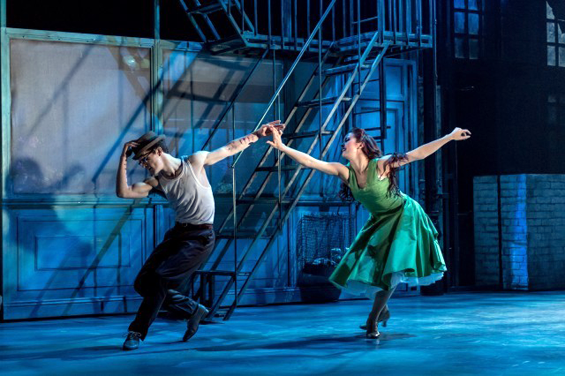 Daniel Collins and Rachel Muldoom in Drew McOnie's Jekyll and Hyde. Photo: Manuel Harlan