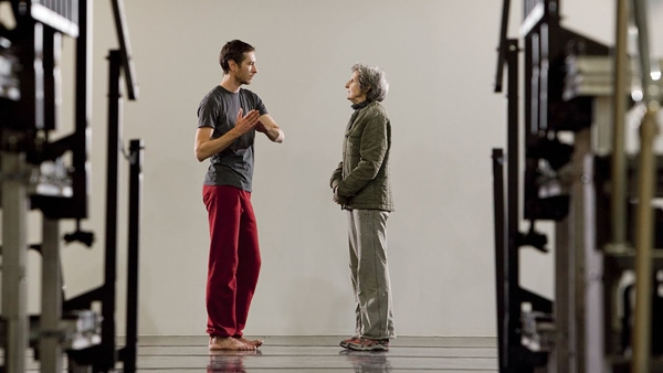 Lee Serle with Rolex Mentor Trisha Brown.