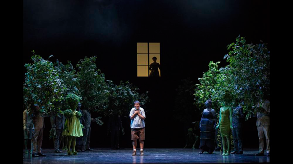 Laurent Pelly's production of Ravel's L'Enfant et les sortilèges for Glyndbourne Opera. Photo: Richard Hubert Smith