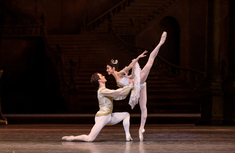 Yasmine Naghdi and Matthew Ballet in The Royal Ballet's Sleeping Beauty. Photo: Bill Cooper