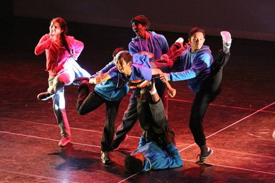 From the 2014 Step Live! performance at Sadler's Wells Theatre.